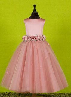 """Olivia"" Made-to-Order Flower Girl Dress"