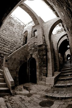 Jerusalem - The Jewish Quarter. Thanks to Sam Rohn - 360* Photography on Flickr.