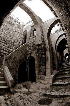 Jewish Quarter, Old City Jerusalem. Israel