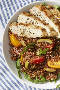 Chicken Quinoa Bowls