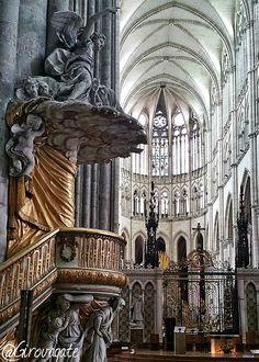 Notre-Dame Saint Leu, Notre Dame, Abstract, Artwork, Summary, Work Of Art, Auguste Rodin Artwork, Artworks, Illustrators