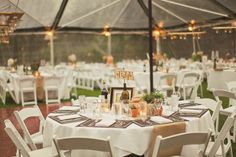 Wedding under the Clear Tent at Inn Marin in Novato