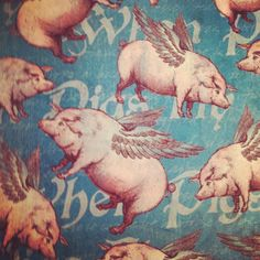 When pigs fly Graphic45. Awesome