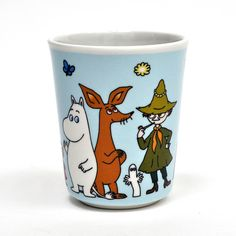 Melamine Moomin cup by Petit Jour