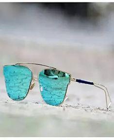 Buy Destiny Fashion Silver And Blue Metal Sunglasses online Men Sunglasses Fashion, Blue Aviator Sunglasses, Stylish Sunglasses, Sunglasses Women, Wooden Sunglasses, Clubmaster Sunglasses, Destiny Fashion, Buy Sunglasses Online, Sunglasses Sale