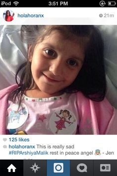 Everyone please pray for Arshiya Malik #prayformalikfamily #everyprayercounts #helpbypraying