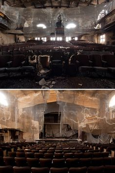 Abandoned Theaters - Penthouse Cinema (Proctor's Palace Theatre), Newark, New Jersey