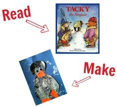 Preschool Story Book Craft - Winter, Penguin