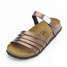 b0bab28e291040 Betula by Birkenstock Burma Metallic Sandal Metallic Sandals