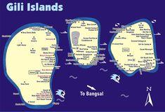 gili island , Lombok , Indonesia