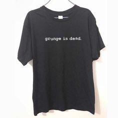New Summer Grunge is Dead kurt cobain nirvana rock Funny T Shirt Men Funny Cotton Short Sleeve T-shirt Tshirt camiseta It T Shirt, Shirt Style, Kurt Cobain, Mens Tee Shirts, T Shirts For Women, Pietro Boselli, Hip Hop, Summer Grunge, Hipster