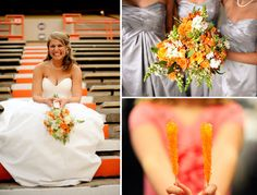 Not for ur room ...but I new u would like them...Tennessee Vols Wedding 5