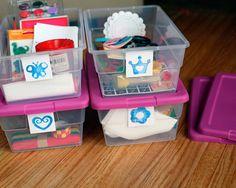 DIY Quiet Time Boxes for Kids www.fiskars.com