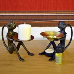 Grehom Gift Boxed Candle Holder & Oil Burner – Monkey http://www.grehom.com/Gifts-Celebrations/Create-the-Mood/Candle-Stands/Grehom-Gift-Hamper-Monkey.html