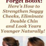 Make it Yourself: Natural Botox From Only 3 Ingredients Beauty Tips For Face, Beauty Skin, Double Chin, Forget, Healthy Beauty, Skin Tightening, Skin Cream, Skin Problems, Face Skin