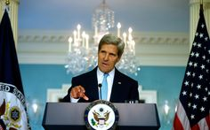 Via MHP · Aug 30, 2013   President Barack Obama and Secretary of State John Kerry spoke to the American people today about U.S. action in Syria in light of Assad's use of chemical weapons.
