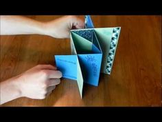 card making video tutoral: How to Make Cards: Cascade Card Card Making Templates, Card Making Tutorials, Card Making Techniques, Tri Fold Cards, Fancy Fold Cards, Pop Up Cards, Cool Cards, Trifold Shutter Cards, Cascading Card