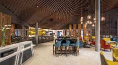 Wood Grill, Crittall, Hunter Douglas, Wooden Slats, London Hotels, Wood Ceilings, Polished Concrete, White Paneling, Wow Products