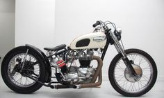 TRIUMPH T120 R BOBBER It looks a bit busy but a nice bike I think Becca
