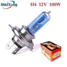 1.21$  Buy here - H4 100W 12V Halogen Bulb h4 super white Fog Lights High Power Car Headlights Lamp Car Light Source parking auto   #buymethat