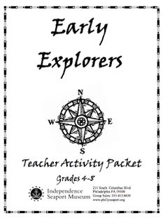 I was searching the internet today for resources to help teach about Early Explorers. (I know I'm a little bit behind in my social studi...