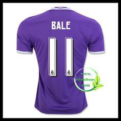 Fotballdrakter FC Real Madrid BALE #11 Bortedraktsett 2016-2017