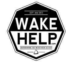 Logo made for wakehelp.com (for Marc Shuster - pro wakeboarder)