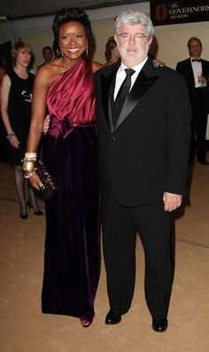 George Lucas and fiance Melody Hobson