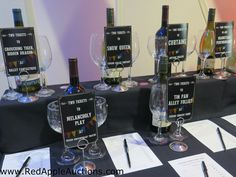 Themed silent auction category -- show tickets with wine. #SchoolAuctionIdeas