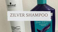 zilver shampoo, blog over welke shampoo beter werkt bij grijs haar.