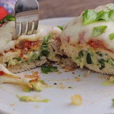 Your chicken parmesan just got a vegetable makeover! Stuffed with zucchini and ooey gooey cheese, this is a delicious way to each your veggies.