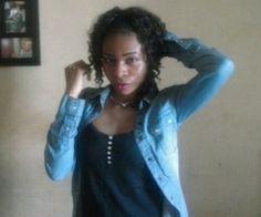 Rachel Garcia Love | via Tumblr #Style #BlueJeans #CurlyHair #PostCurlyHair #TeamZ #TeamAfrique @PostBadBitchess