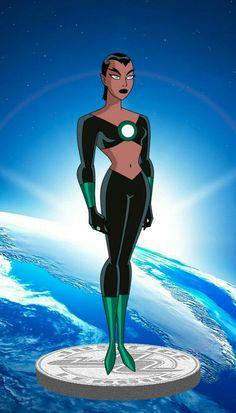 Marvel Dc, Marvel Girls, Cartoon Girl Drawing, Girl Cartoon, Gordon Batman, Green Lantern Corps, Green Lanterns, Dc Comics Art, Character Design Animation