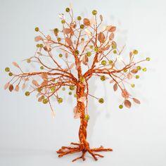 """Διακοσμητικό Δέντρο """"Χαλκός-λαδί"""""""