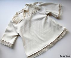 Love this cute little lacy top.  Love all of Jess' work!!