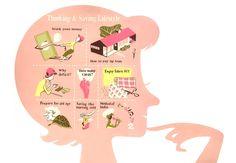 Lifestyle budgets : illustration by Satoshi Hashimoto www.dutchuncle.co.uk/satoshi-hashimoto