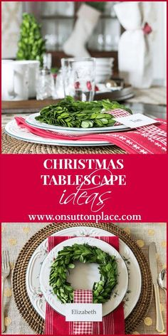 Image result for place card small plant pot christmas decor