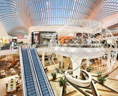 Chadstone Shopping Centre lighting design by Electrolight
