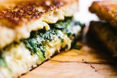 Grilled Cheese with Charred Scallions - Not Without Salt