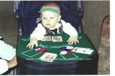 Homemade Baby Black Jack Dealer Stroller Costume... This website is the Pinterest of costumes
