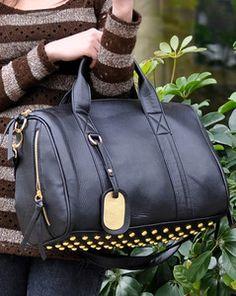 Black Korean Clutch Messenger Tote Women s Satchel PU Leather Shoulder Bag  New 295b97c42b50a