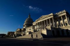 Republicans Don't Get That Taxes Need to Go Up, Not Down   -  November 30, 2017.  Image:   People walk outside the Capitol as Senate Republicans work to pass their sweeping tax bill this week, in Washington, Thursday, Nov. 30, 2017. ( AP Photo/Jose Luis Magana)