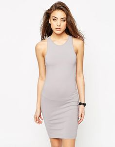 ASOS+Racer+Bodycon+Mini+Dress