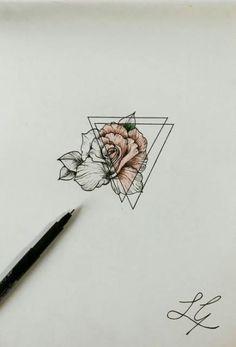 ideas for tattoo geometric flower tat Finger Tattoo – Fashion Tattoos Feather Tattoos, Forearm Tattoos, Rose Tattoos, Sleeve Tattoos, Lotus Flower Tattoos, Tattoo Floral, Tatoos, Geometric Watercolor Tattoo, Geometric Tattoos