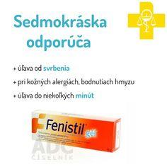 Fenistil 1 mg/g gél gel der (tuba Al) 30 g Olsen, Personal Care, Allergies, Self Care, Personal Hygiene, Ulsan