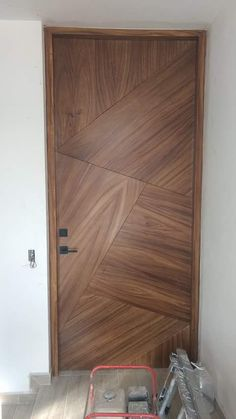 Flush Door Design, Door Gate Design, Bedroom Door Design, Door Design Interior, Wall Decor Design, Wooden Front Door Design, Wooden Front Doors, House Front Design, Flush Doors