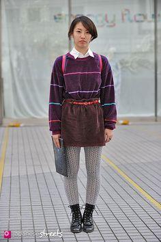 121103-2408 - Japanese street fashion in Shibuya, Tokyo