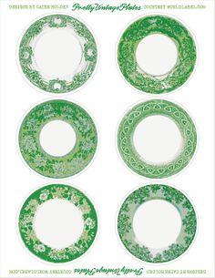 printable vintage plate labels