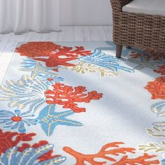 online shopping for Clowers Ocean Scene Aqua Hand-Tufted Red/Blue Indoor/Outdoor Area Rug Highland Dunes from top store. See new offer for Clowers Ocean Scene Aqua Hand-Tufted Red/Blue Indoor/Outdoor Area Rug Highland Dunes Blue Backdrops, Blue Rug, Nautical Rugs, Tufted, Beautiful Carpet, Rugs, Outdoor Area Rugs, Area Rugs, Hand Tufted Rugs