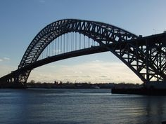 The Bayonne Bridge is the fifth-longest steel arch bridge in the world, and was the longest in the world at the time of its completion. Spanning the Kill Van Kull, it connects Bayonne, New Jersey with Staten Island, New York carrying NY 440 and NJ 440.